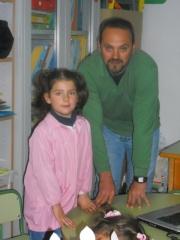 NATALIA Y SU PAPÁ  (NAVIDUL)