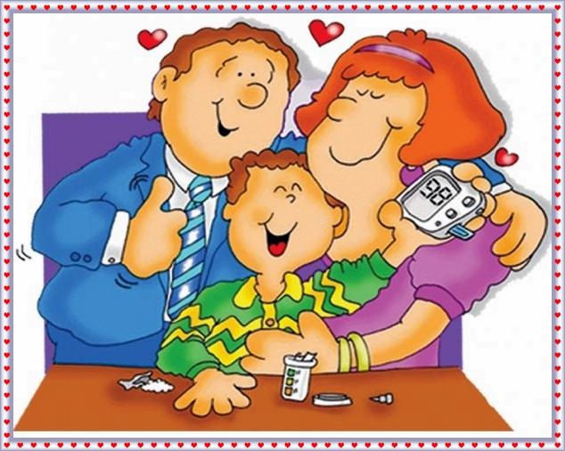 familia feliz ADiabetesalDia2
