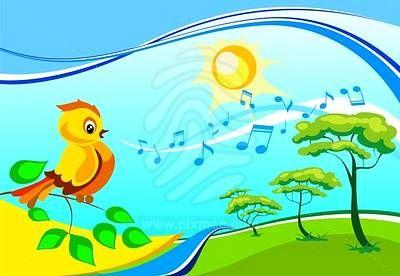 pajaro cantando