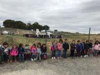 VISITA AL HELICÓPTERO DEL112
